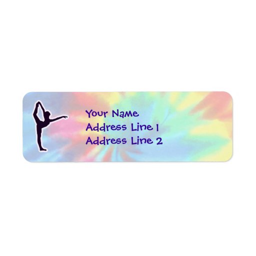 Peace, Love, Ballet Return Address Label