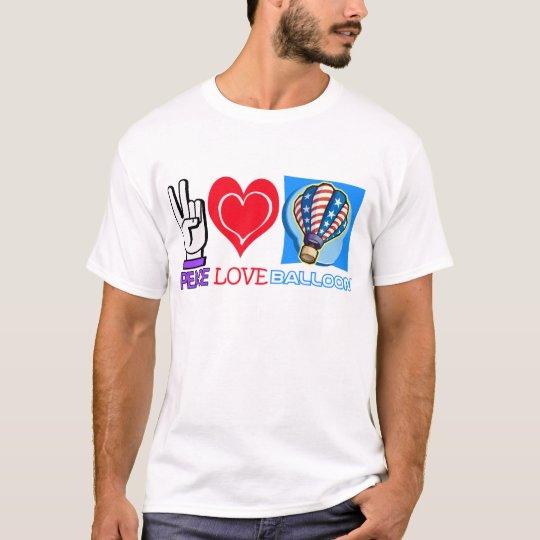 PEACE LOVE BALLOON T-Shirt