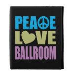 Peace Love Ballroom iPad Case