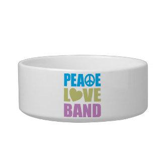 Peace Love Band Bowl