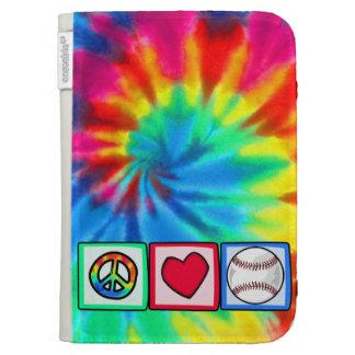 Peace, Love, Baseball Case For The Kindle