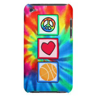 Peace, Love, Basketball Barely There iPod Cases