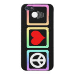 peace love basketball case for iPhone 5