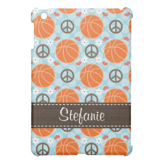 Peace Love Basketball  Case For The iPad Mini