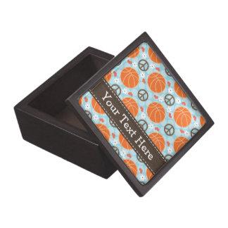 Peace Love Basketball Gift Box
