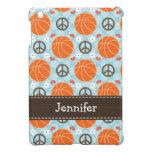 Peace Love Basketball iPad Mini Covers