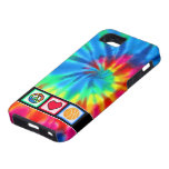 Peace, Love, Basketball iPhone 5 Covers