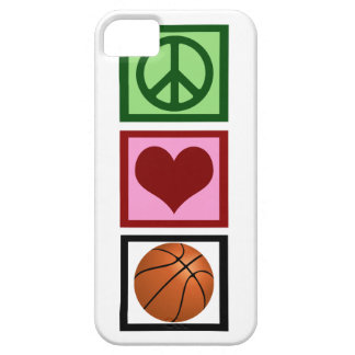 Peace Love Basketball iPhone SE/5/5s Case