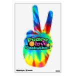 Peace, Love, Basketball; Retro Room Graphic