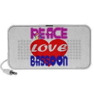 Peace Love Bassoon Speaker