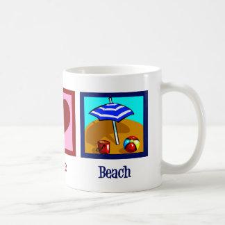 Peace Love Beach Coffee Mug