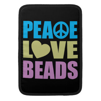 Peace Love Beads MacBook Air Sleeve