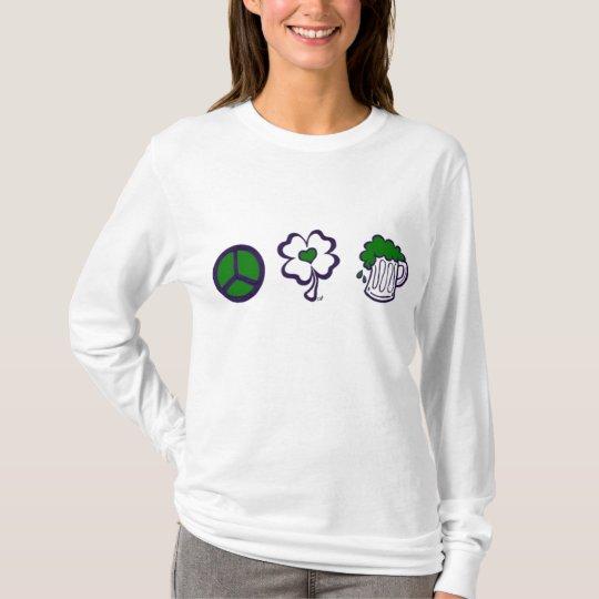 Peace, Love, & Beer T-Shirt