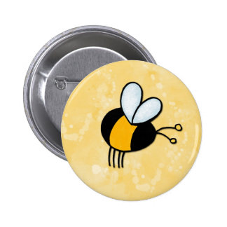 peace love bees 2 inch round button