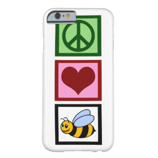 Peace Love Bees Barely There iPhone 6 Case