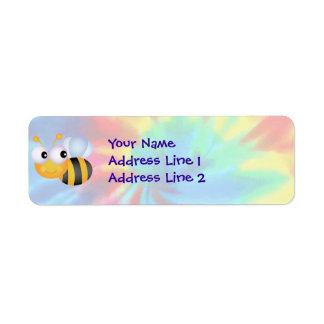 Peace, Love, Bees Return Address Label