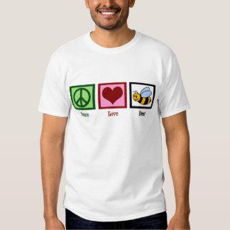 Peace Love Bees Shirts