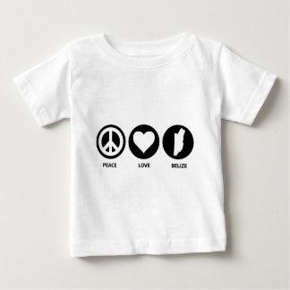 Peace Love Belize Baby T-Shirt