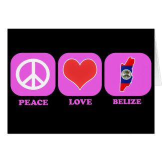 Peace Love Belize Cards