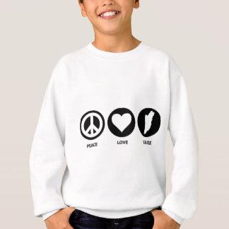 Peace Love Belize Sweatshirt