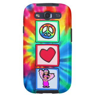 Peace, Love, Belly Dancing Samsung Galaxy SIII Covers