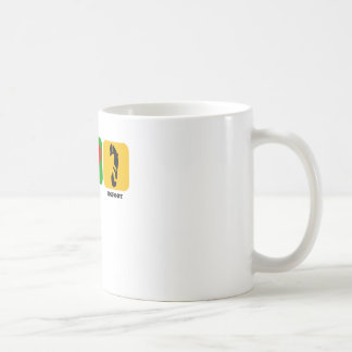 Peace Love Bigfoot Coffee Mug