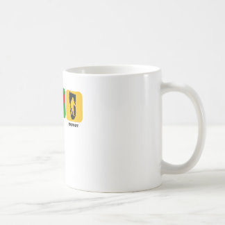 Peace Love Bigfoot Coffee Mugs