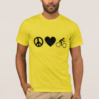 peace love bike T-Shirt