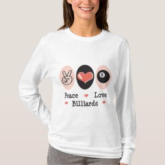 Peace Love Billiards Hoodie