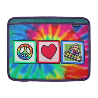 Peace Love Billiards Sleeves For MacBook Air
