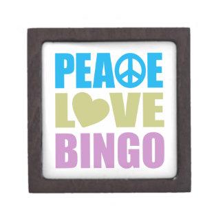 Peace Love Bingo Premium Gift Boxes