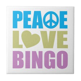Peace Love Bingo Tiles
