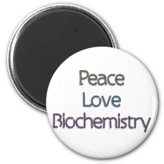 Peace, Love, Biochemistry Magnets