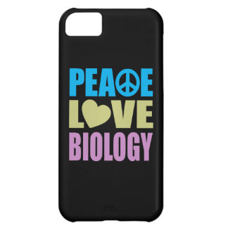 Peace Love Biology Cover For iPhone 5C
