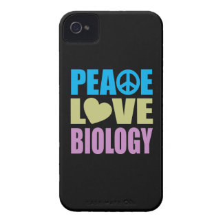 Peace Love Biology iPhone 4 Covers