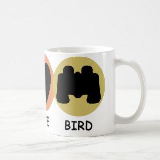 Peace Love Bird Coffee Mug