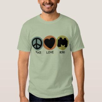 Peace Love Bird T-shirt