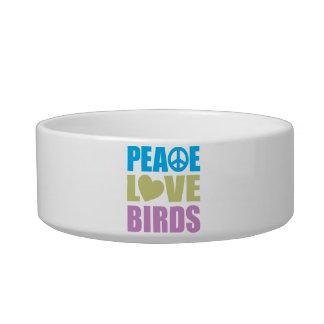 Peace Love Birds Bowl