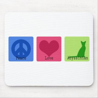 Peace Love Birman Mouse Pad