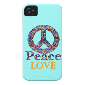 Peace, Love Blackberry Case