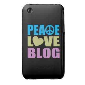 Peace Love Blog iPhone 3 Case-Mate Case