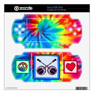 Peace, Love, Bluegrass Decals For The PSP Slim