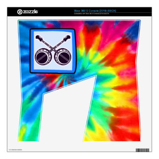 Peace, Love, Bluegrass Decals For Xbox 360 S