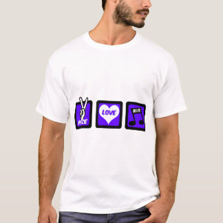 Peace love blues T-Shirt