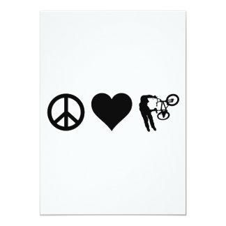 Peace Love BMX Card