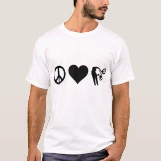 Peace Love BMX T-Shirt