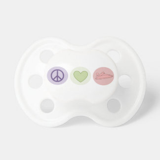 Peace Love Boats Pacifier