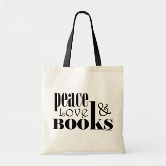 Peace Love Books Bags