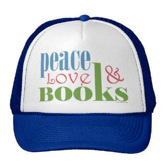Peace Love Books II Trucker Hat