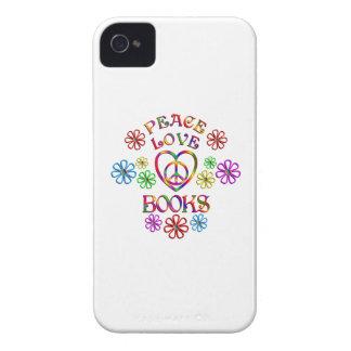 Peace Love Books iPhone 4 Case
